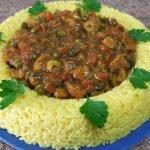 Arroz con pollo receta la más fácil,  rica y rápida  / comida de Marruecos