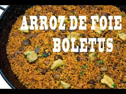 Arroz de Foie  Boletus   El Meloset   El Libro de la Paella Valenciana Arroces Alicantinos  ArturG