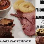BRISKET|FRIJOLES CHARROS Y JAMON AHUMADO(SEGUNDA PARTE..)RECETA |COMIDA NAVIDEÑA/DIAS FESTIVOS|