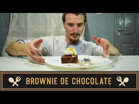 ♥ BROWNIE DE CHOCOLATE ♥ Bomba de sabor!! • Recetas de Brian en tu Cocina •
