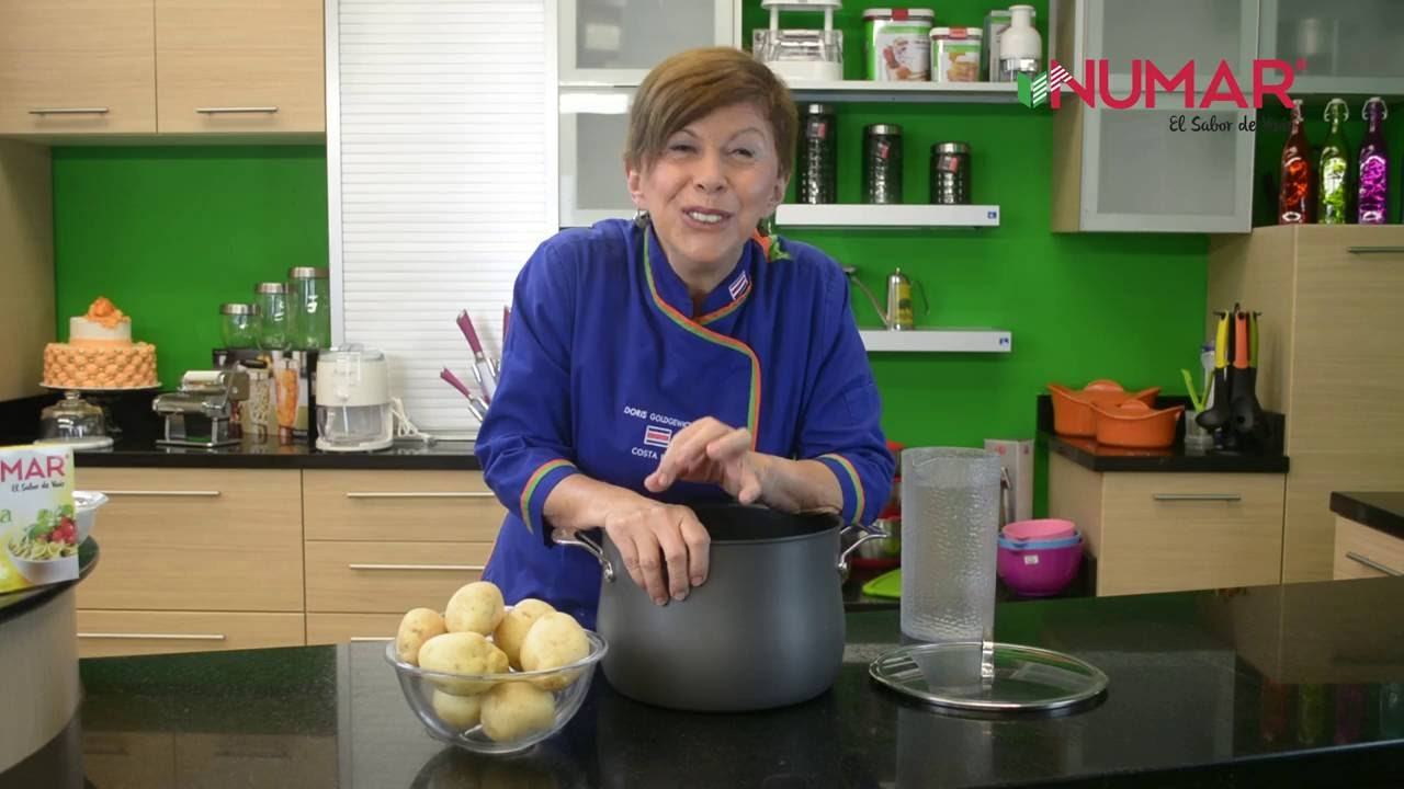 CÓMO PREPARAR PAPAS DUREE   Recetas fáciles de comida saludable   NUMAR