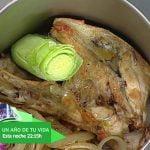 Cómetelo | Arroz con pollo, setas y castañas