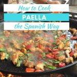 Cómo cocinar paella al estilo español