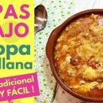 Cómo hacer SOPAS DE AJO TRADICIONALES 🍲 SOPA CASTELLANA 😍 ¡La mejor Sopa del Mundo!
