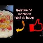 Como hacer gelatina de Mazapán.😋😋 Fácil de hacer (Luz recetas de cocina)