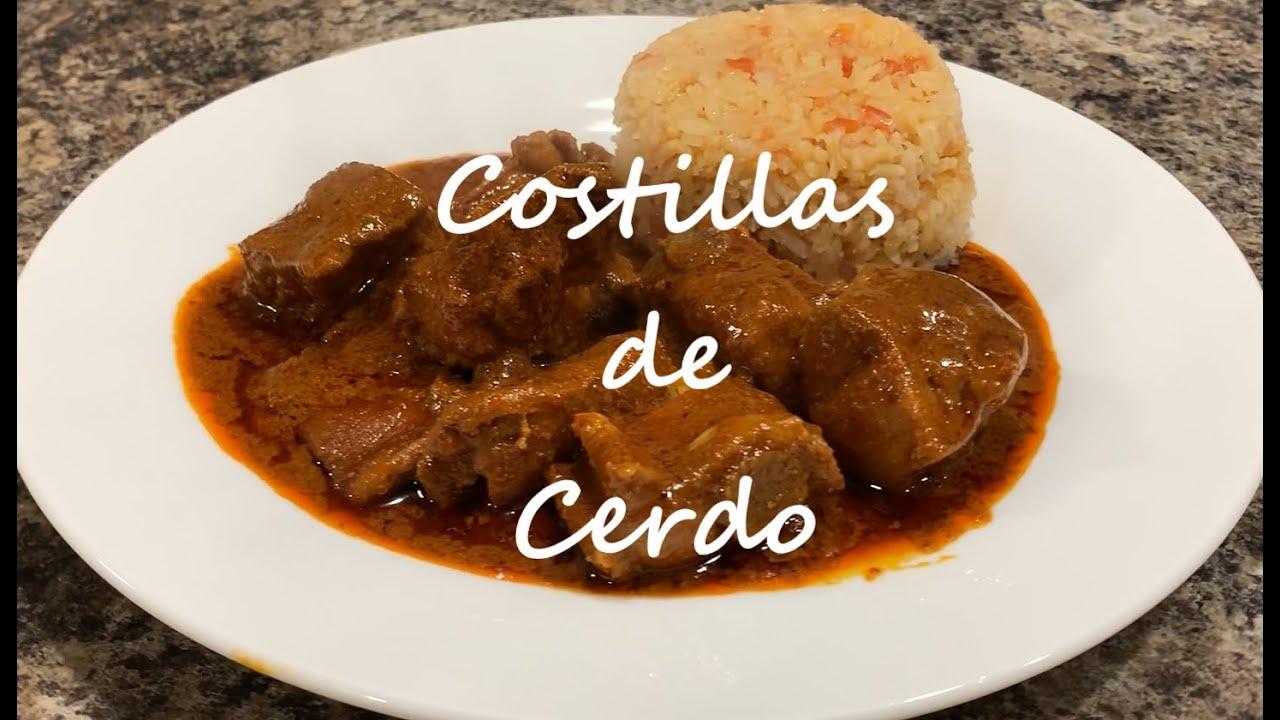 Costillas de Cerdo en Mole   Cocina Facil   Receta   La Cocina de Valentina