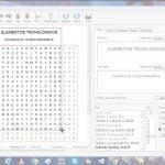 Crear sopas de letras y crucigramas