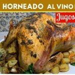 El Pavo más Jugoso y Tierno con Gravy de Vino Blanco receta FÁCIL  Cocina de Addy