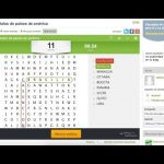 Elaboración de sopas de letras con educaplay