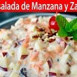 Ensalada de Manzana y Zanahoria para las Fiestas   Vicky Receta Facil