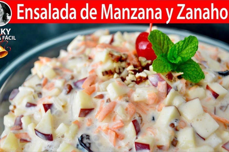 Ensalada de Manzana y Zanahoria para las Fiestas | Vicky Receta Facil