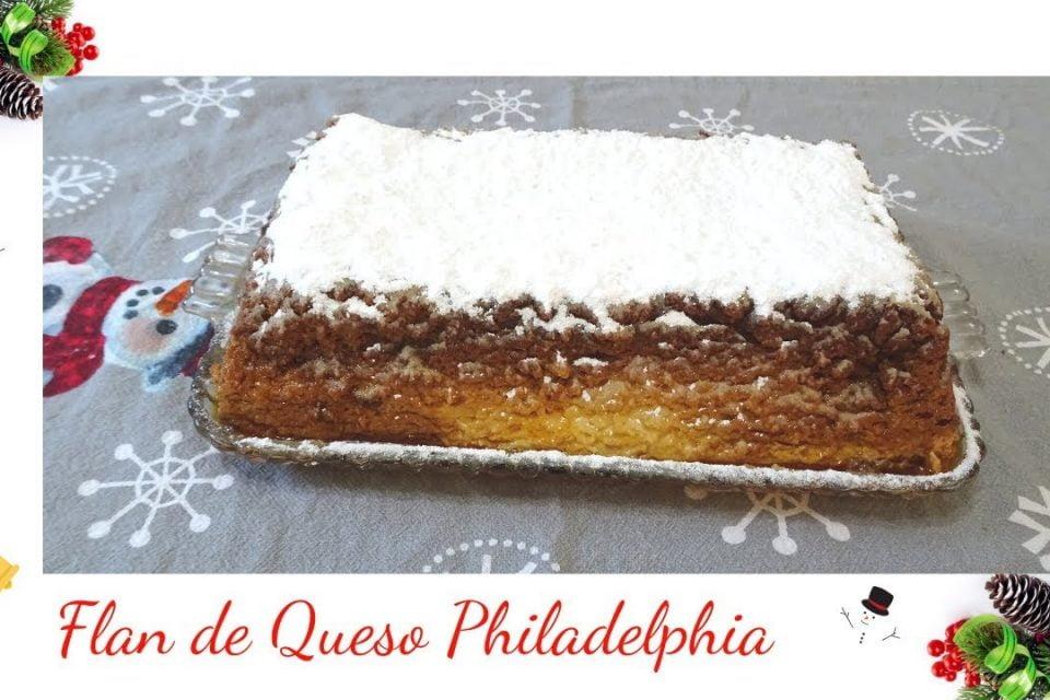 Flan de Queso Philadelphia Receta para Navidad - La cocina deTery