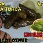 👩🍳Hojas de parra enrolladas SARMA 👩🍳 recetas de cocina faciles rapidas y economicas recetas turcas