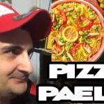 😱😱La PIZZA-PAELLA los ALEMANS😱😱