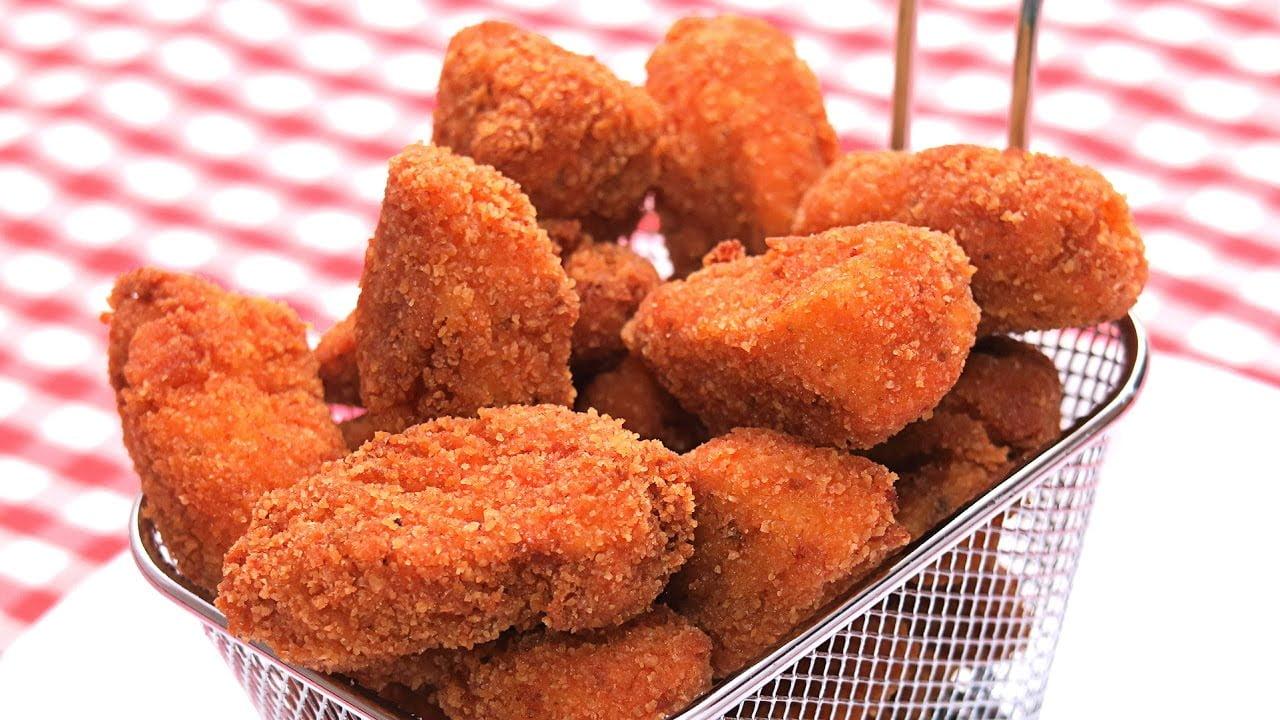 Lagrimitas de Pollo en Adobo | Receta de Pollo Frito Fácil y Delicioso