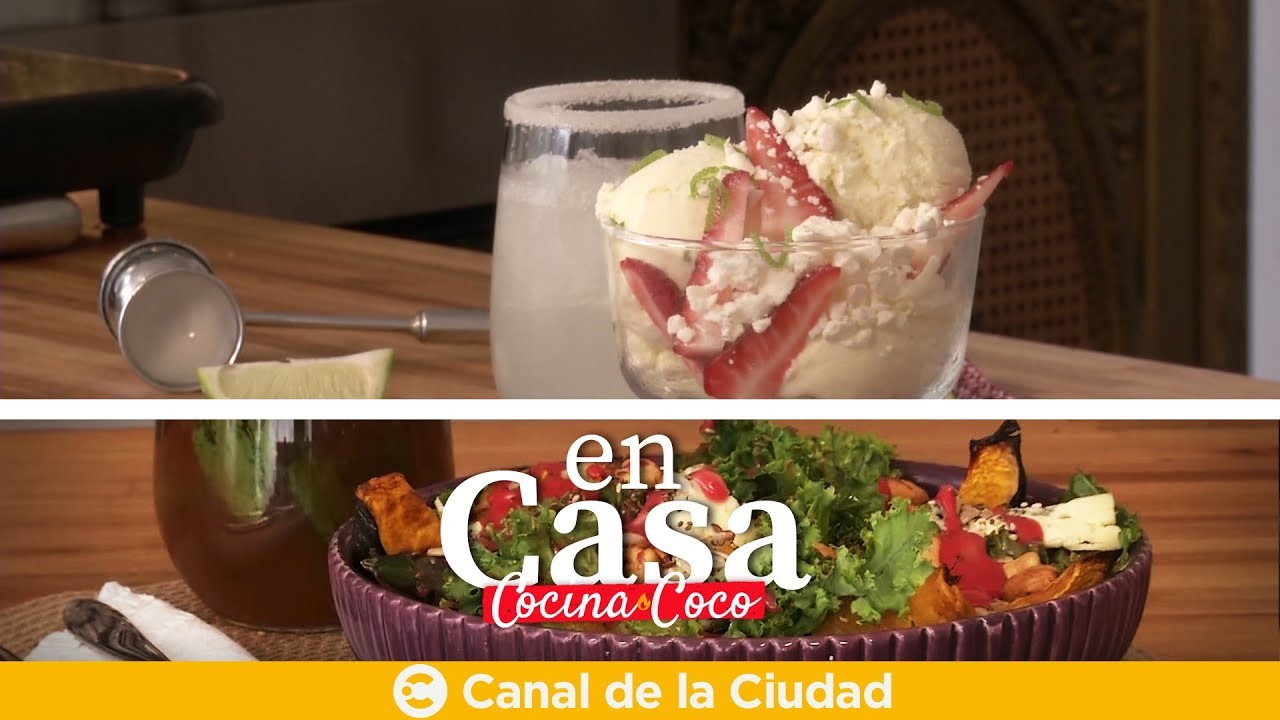 Las Recetas de Coco: Helado de Margarita - En Casa Cocina Coco