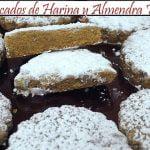Mantecados de Harina y Almendra Tostada | Receta de Cocina en Familia