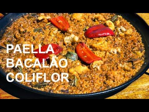 PAELLA DE BACALO CON COLIFLOR  Casa Arturos Paellas y Arroces (ArturG)