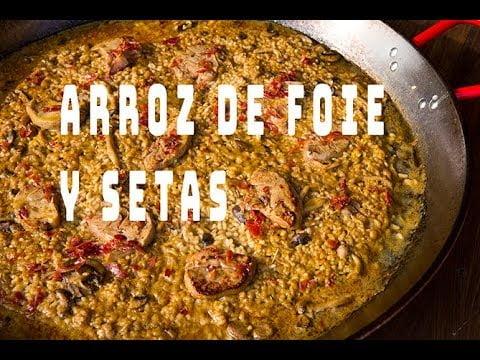 PAELLA DE  FOIE Y SETAS  Casa Arturos Paellas y Arroces (ArturG)