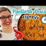 PAELLA DE PESCADO FÁCIL | *Recetas Express*