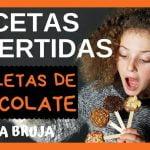🧡🧡🧡 PIRULETAS DE CHOCOLATE. Recetas de cocina fáciles. Receta infantil rápida y divertida.
