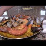 Paella Mixta - de Pollo, Pescado, Marisco y Verduras