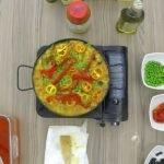Paella de Carnes por Chef Oscar Maldonado