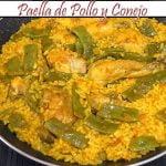 Paella de Pollo y Conejo   Receta de Cocina en Familia