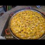 Paella mixta para 200 personas Melgar de Fernamental 2017