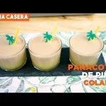 Panacota con Piña Colada con Cooking Chef - Cocina Casera