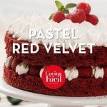 Pastel red velvet ¡Receta fácil y deliciosa! | Cocina Fácil