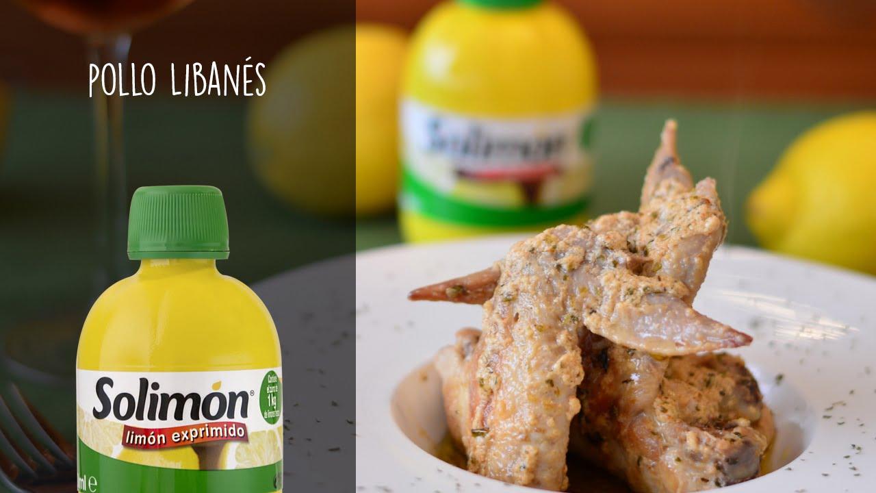 Pollo Libanés-Recetas de cocina con limón