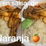 Pollo en salsa de naranja 🍊/receta fácil / mi cocina / ecuatoriana
