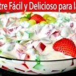Postre Fácil y Delicioso para las Fiestas | Vicky Receta Facil
