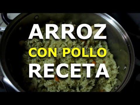 RECETA ARROZ CON POLLO - COMIDA PERUANA 2019