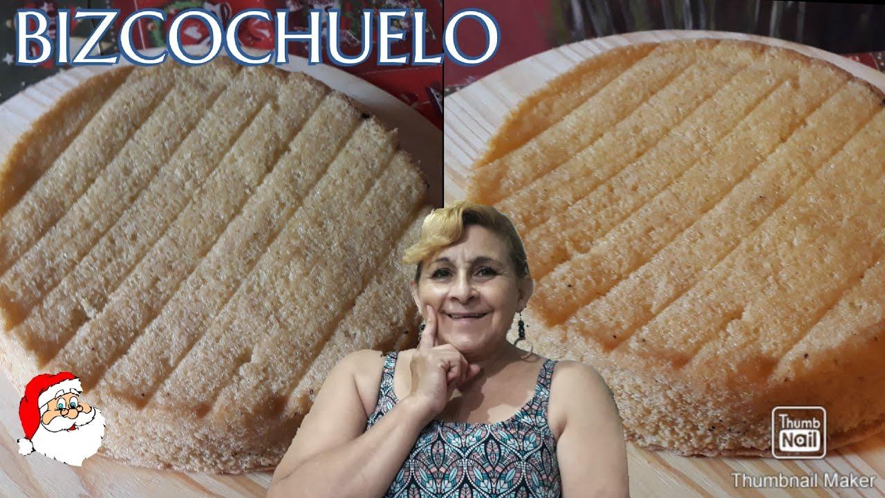 RECETA DE BIZCOCHUELO MUY FACIL Y RICO !!! | Cocina Económica