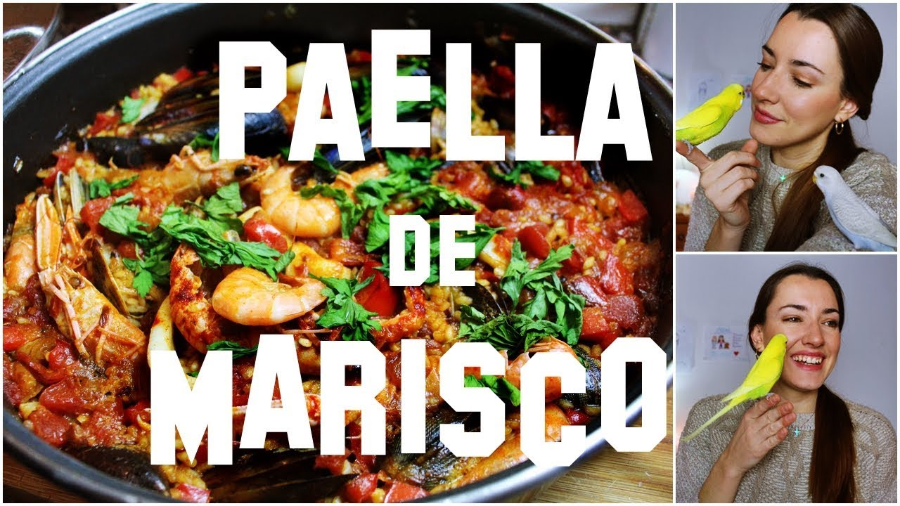 RECETA PAELLA MARISCO | EN SARTÉN | FÁCIL Y RÁPIDA