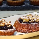 Receta Sablé bretón con mermelada y nueces - Recetas de cocina, paso a paso, tutorial