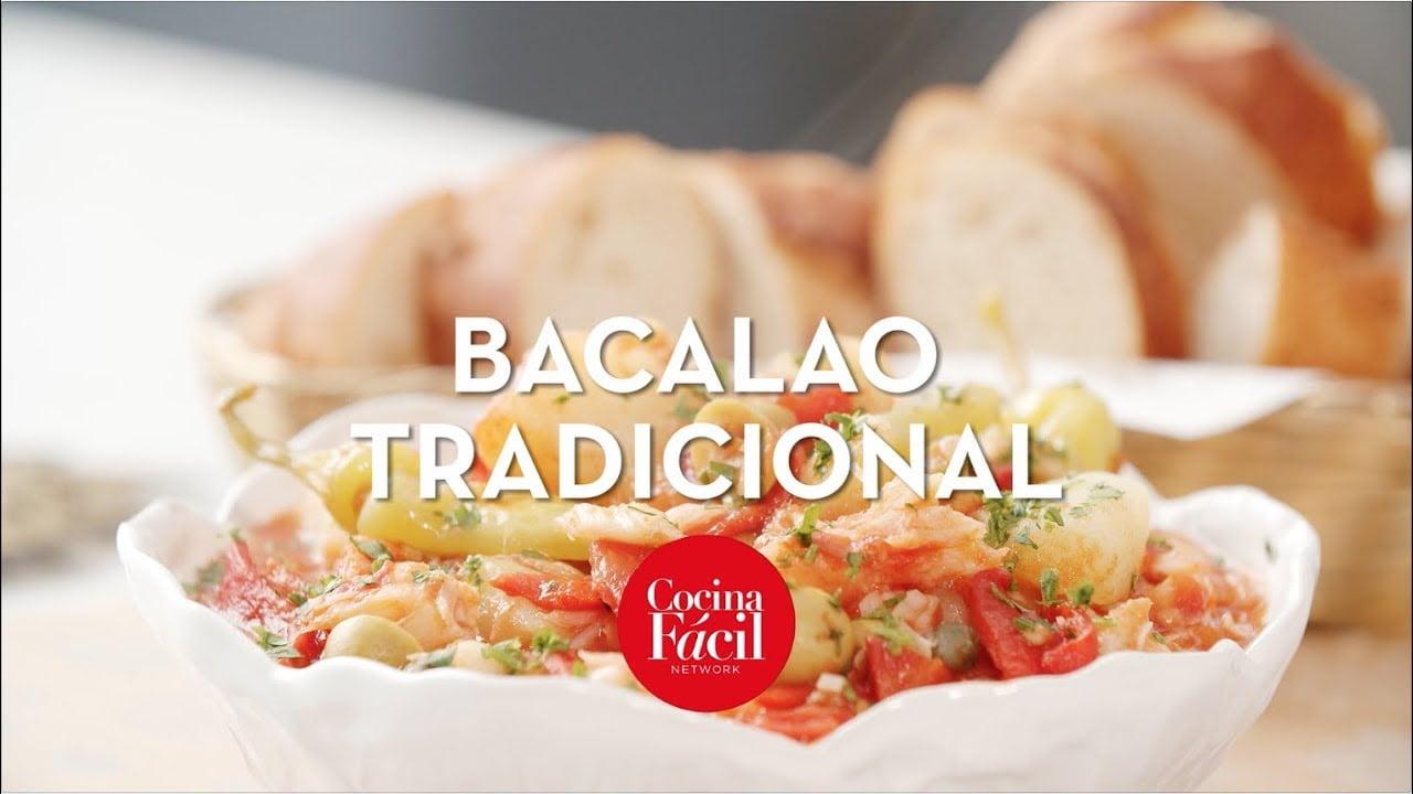 Receta de bacalao tradicional navideño | Cocina Fácil