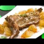 Receta de conejo asado con patatas - Karlos Arguiñano
