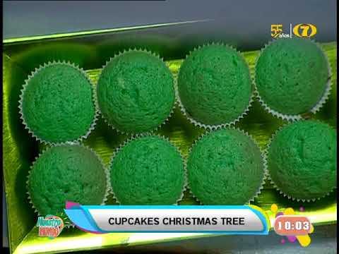 Receta de hoy: Cupcakes Christmas tree
