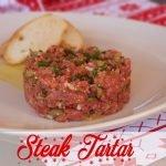 Recetas para Navidad: STEAK TARTAR | Cocina al día - Receta #90