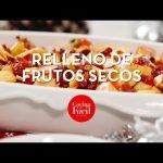 Relleno de frutos secos ¡Receta fácil y rápida! | Cocina Fácil