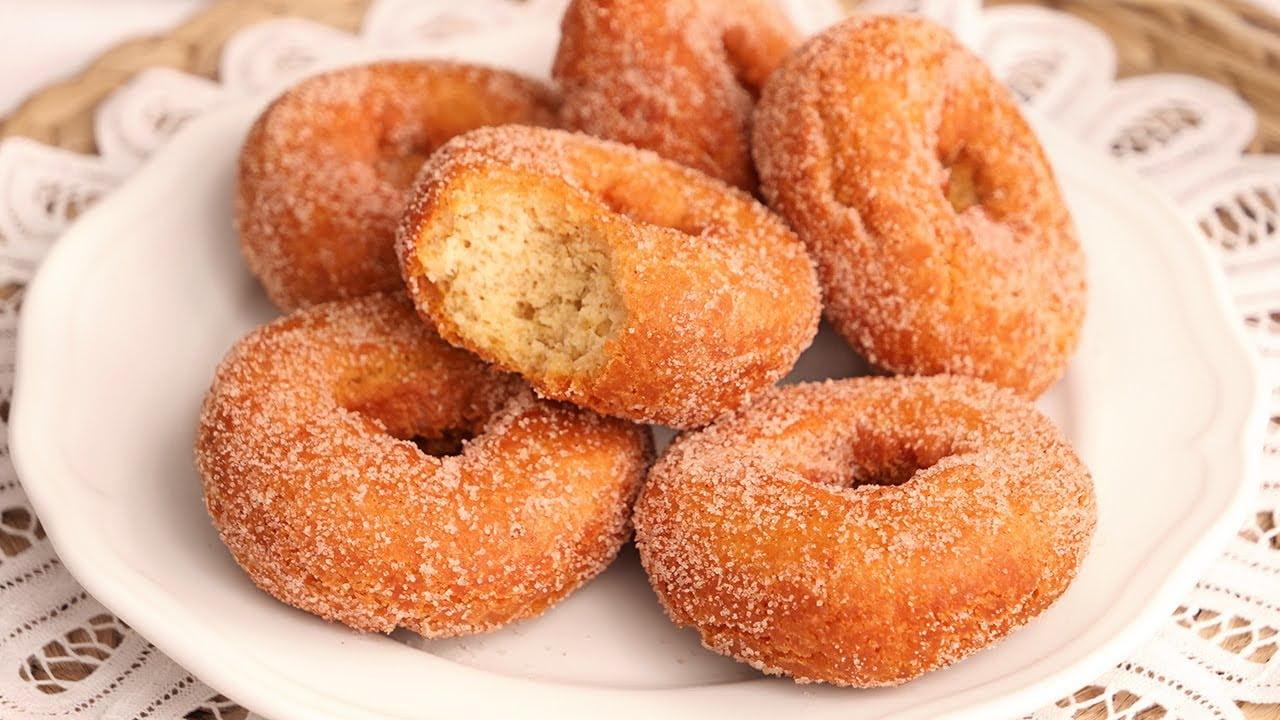 Rosquillas Fritas de Anís deliciosas y muy tiernas | Receta Tradicional de la Abuela