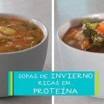 🍲 SOPAS DE INVIERNO - Ricas en proteína   Comer Vegano