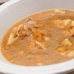 Sopa de pescado de mediana y rape - Cocina Abierta de Karlos Arguiñano