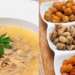 Sopa de pollo - Aperitivos salados - Cocina Abierta de Karlos Arguiñano