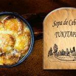 Sopa francesa de Cebolla,  una sopa sabrosa y económica.