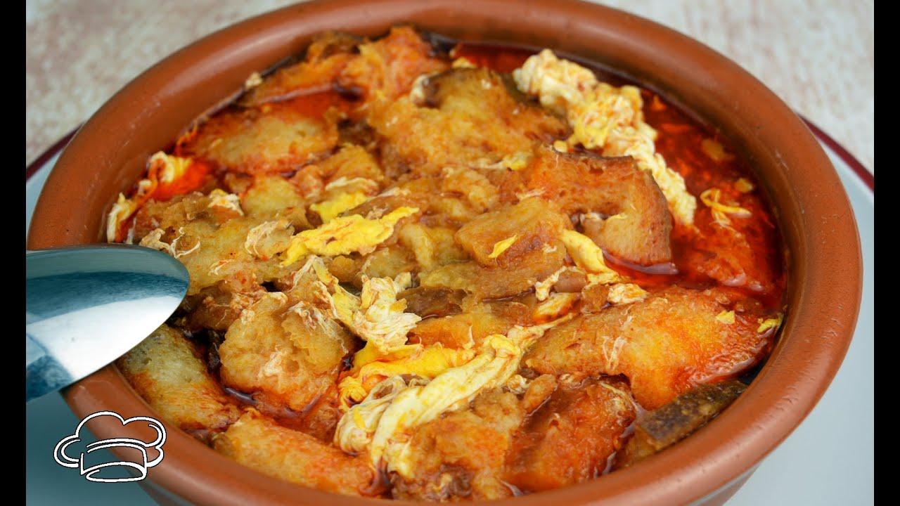 Sopas de ajo al estilo de la sopa castellana Javier Romero