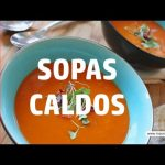 TIPOS DE CALDOS Y SOPAS